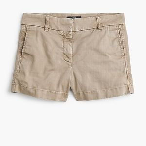 Size 10 J Crew Cotton Shorts